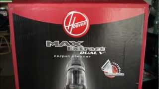 Hoover MAXExtract SteamVac Dual V Extractor (Unboxing & Review)