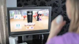 Challenge yourself with Wii Fit Plus - Tanya