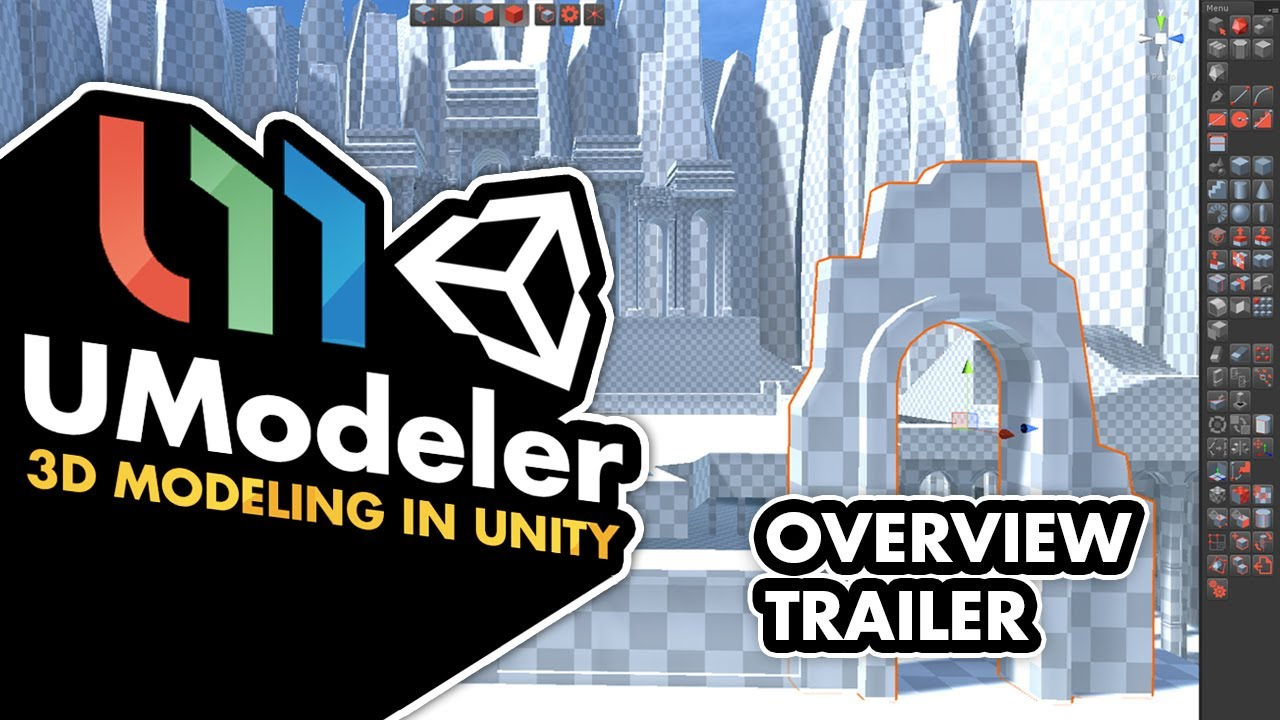 UModeler Overview - Unity Modeling Tool