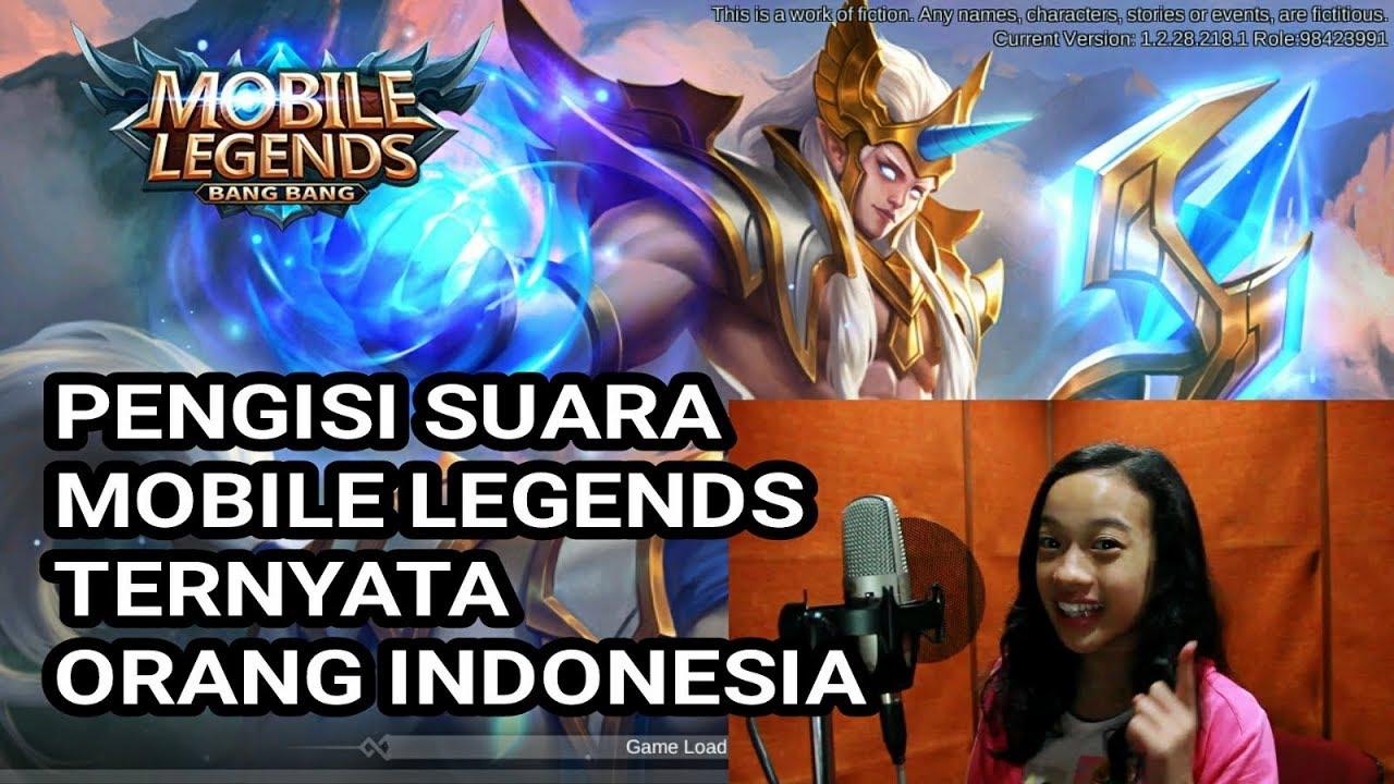 Pengisi Suara MOBILE LEGENDS Ternyata Orang Indonesia