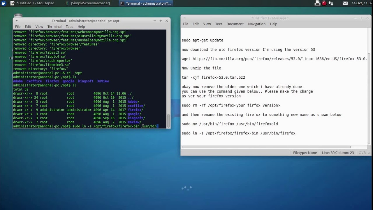 download firefox 52 esr ubuntu