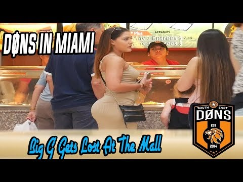 Dons in Miami: 'Big G' Gets Lost At The Mall'