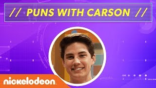 Try Not to Laugh! Carson Rowland is Pun-stoppable! | I Am Frankie | Nick