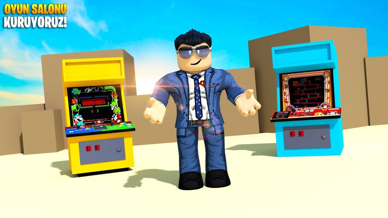 🕹️ Restor- Pardon Atari Salonu Kuruyoruz! 🕹️   Arcade Empire   Roblox Türkçe