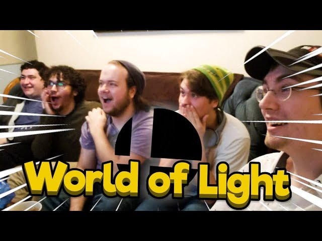 Smash Ultimate World of Light but AAAAAAAAAAAAAAAAAAA