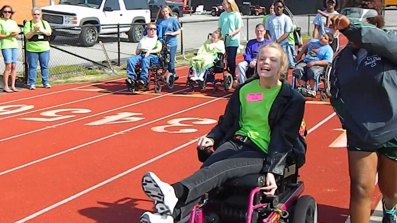 wheelchair olympics chair cover hire invercargill special races youtube