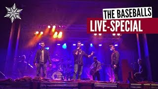 The Baseballs - Little Drummer Boy (Christmas Song Live)