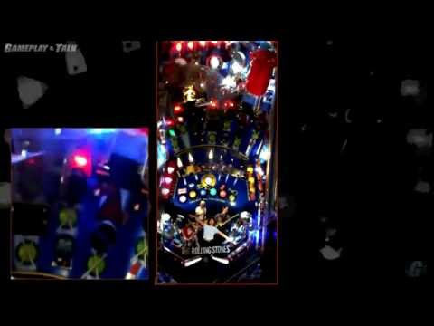 Stern Rolling Stones Pinball Gameplay and Commentary