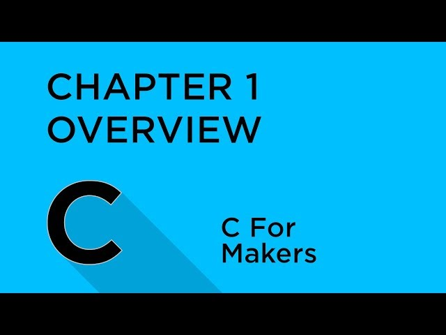 C Programming for Makers - Tutorial Australia