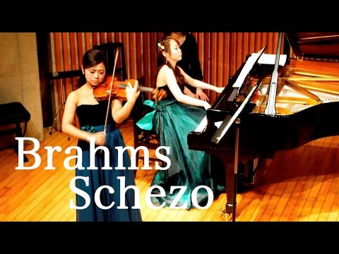 ElfenDuo - Brahms: Scherzo in C minor from F.A.E Sonata