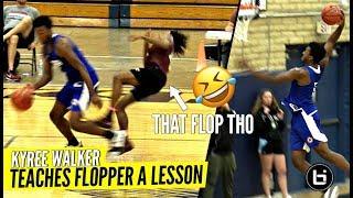 Kyree Walker Teaches Flopper A Lesson 😂😂 Hillcrest DOMINATES Opposing Team!!