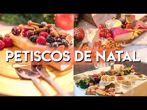 RECEITAS DE PETISCOS E ENTRADAS DE NATAL | Estilo Bifásico