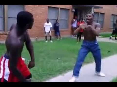 Fight In The Projects...