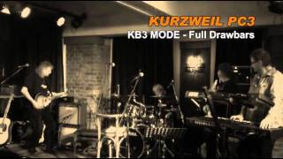 KURZWEIL PC3 - LIVE!!! - part 2