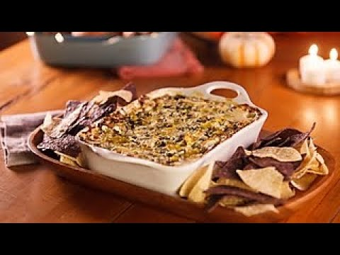 Green Chile Spinach Dip | Food.com