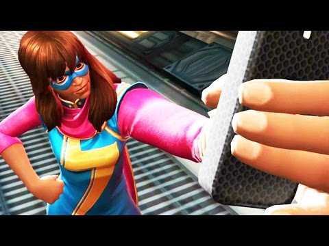 KAMALA KHAN SPECIAL ATTACKS (w/ Crystal Opening) - Marvel Contest of Champions - Gameplay Part 64