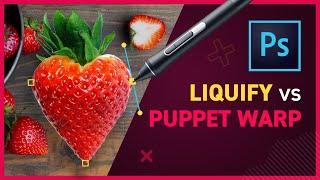 Puppet Warp vs Liquify Filter - Photoshop CC 2020 thumbnail