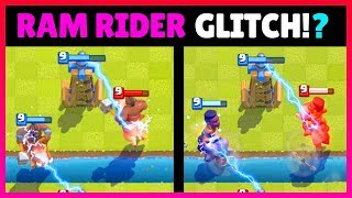 NEW RAM RIDER GLITCH?! Clash Royale Mythbusters! Episode #5