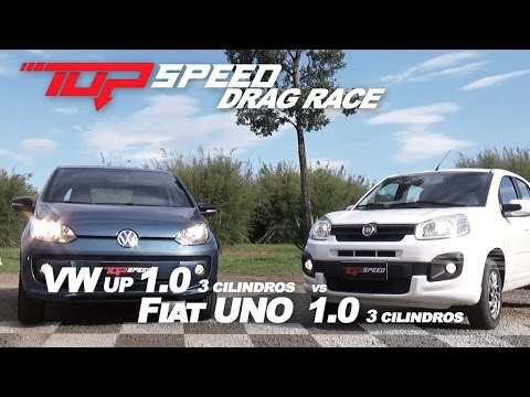 Drag Race : Uno 1.0 vs Up 1.0   Canal Top Speed