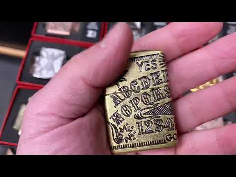 Some more Z-Luxury Zippo , stay tuned this year is going to be insane
