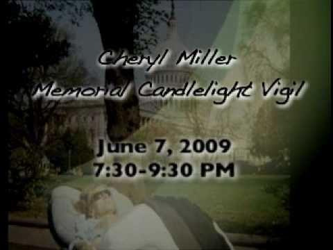 Candlelight Vigil for Cheryl Miller Promo Video