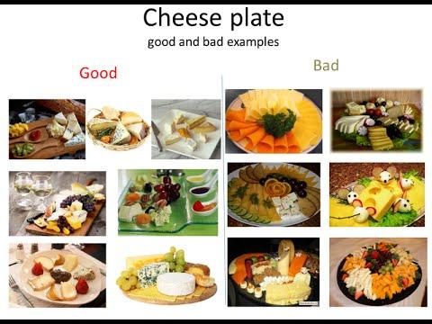 Сырная тарелка на праздничный стол