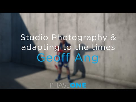 Education | Studio Photography & adapting to the times with Geoff Ang | Phase One