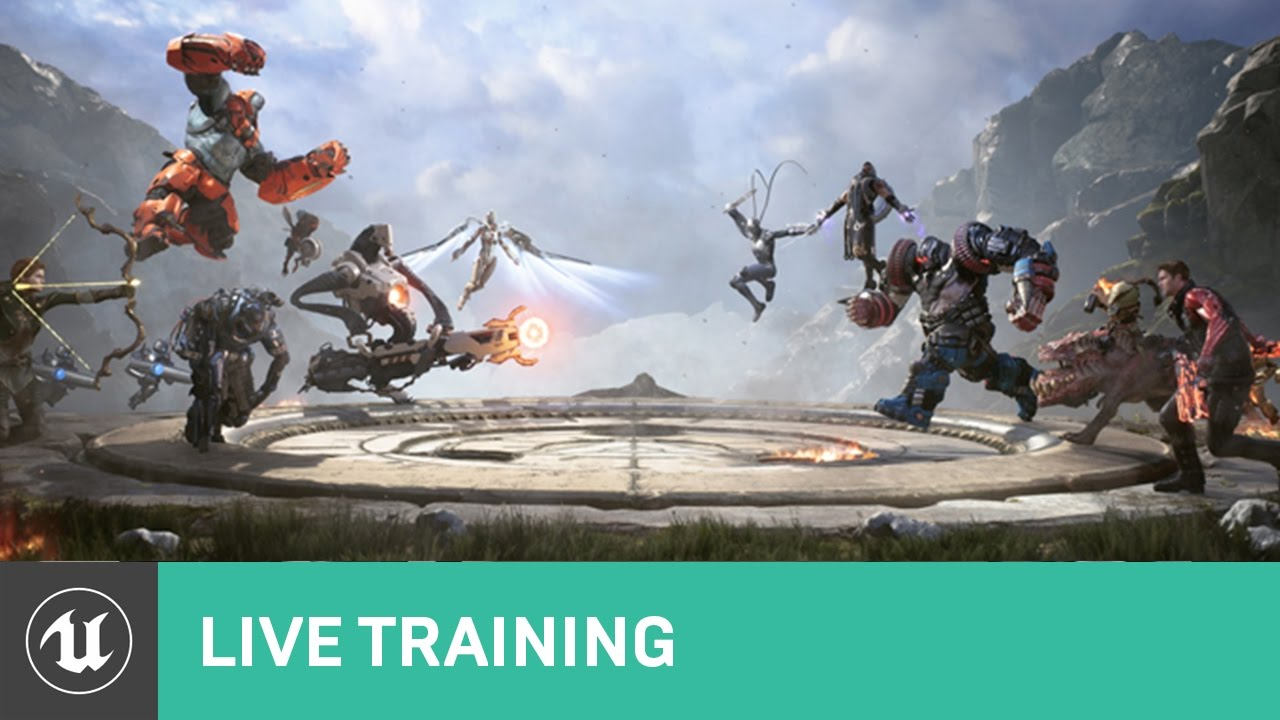 Replication live training unreal engine youtube replication live training unreal engine malvernweather Gallery