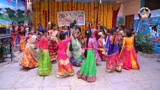 Chinni Ma Bathukamma V6 Song Dance Performance    SVN High School YGT    Bathukamma Celebrations