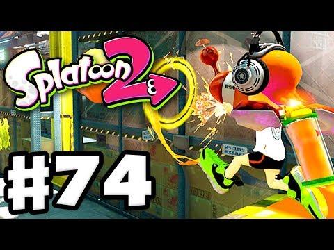 Splatoon 2 - Gameplay Walkthrough Part 74 - Tower Control! (Nintendo Switch)