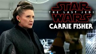 Star Wars The Last Jedi Carrie Fisher Homage Is Coming!