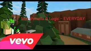 A Roblox Story - Everyday (Marshmello) (Clean)