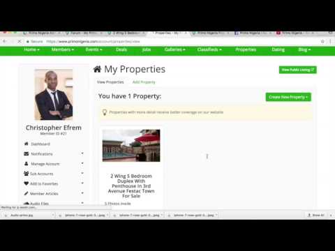 How To List House For Sale or Rent on Primo Nigeria