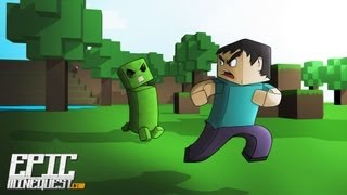DOBLAJE MINECRAFT ¡ EPIC MINEQUEST 2 ! (spanish fandub)