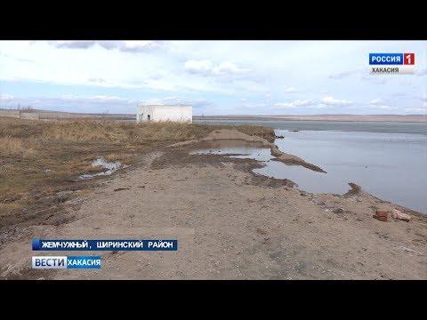 В Жемчужном вместо берега теперь песчаный карьер. 27.04.2018