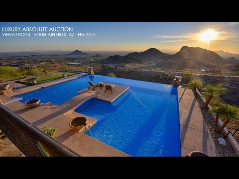 Luxury Fountain Hills AZ Home For Sale [Absolute Auction]