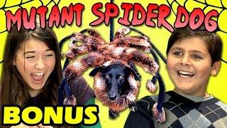 KIDS REACT TO MUTANT SPIDER DOG (Bonus #120)