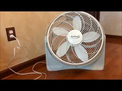 Older Lasko Cyclone Pivot Fan
