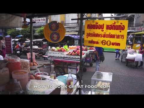 Bangkok Street Food & Markets Thailand by Day - Yaowarat or Chinatown - เยาวราช