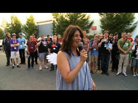 Nicole Oliver Ice Bucket Challenge  BronyCAN 2014