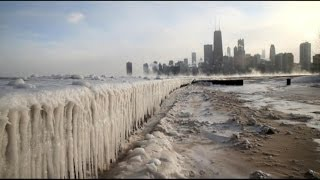 Repeat youtube video Polar Vortex Freezes Parts of US