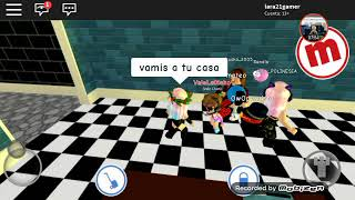 Playing roblox with my XD friends