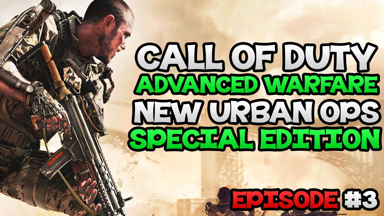 Download Advanced Warfare: NEW Urban Ops Edition - Countdown To Launch #3   Call of Duty