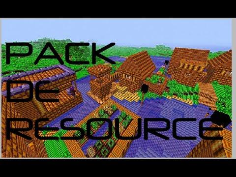 TUTO comment avoir un pack de texture minecraft - YouTube