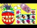 Fizzy Has Play Doh Dentist Colorful Rotten Teeth and Toy Surprise Boxes