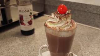 Blackforest Hot Chocolate from Patisserie Valerie