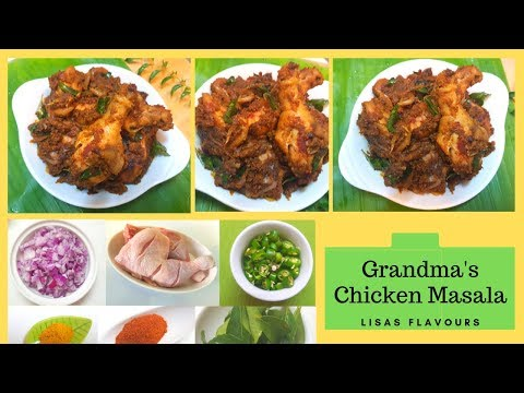 Easy chicken recipe in 10 minutes||How to cook a masala chicken||Kerala style chicken fry curry