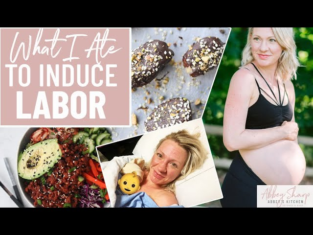 OMG! I'm in LABOR! What I Ate & Everything I Did to Induce a FAST Labor PLUS My Birth Story