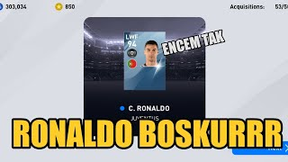 Bila trade dengan Ronaldo enemy auto gementar !! | PES Mobile Pack Opening | WM Alif