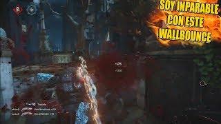 Mi primer PARTIDA con el NUEVO WALLBOUNCE de Gears of War 4 !! *Me quedo sin palabras*  🤐
